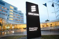 Ericsson bråkar med Samsung. Arkivbild