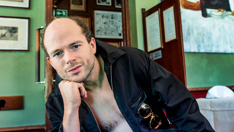 Artisten Jonas Lundqvist kammade hem två priser på Manifestgalan. Arkivbild.