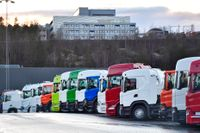 Scania häver permitteringar. Arkivbild.