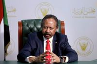 Sudan's premiärminister Abdalla Hamdok. Arkivbild.